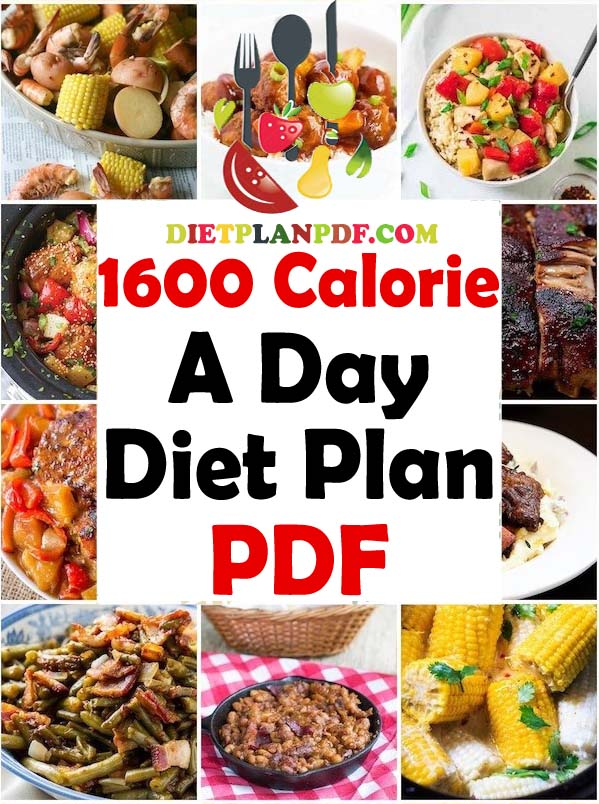 what is a good 1600 calorie diet
